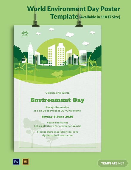 World Environment Day Poster Template