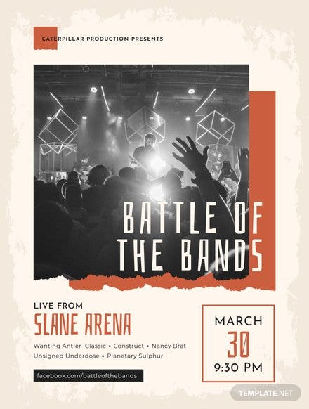 Band Poster Template