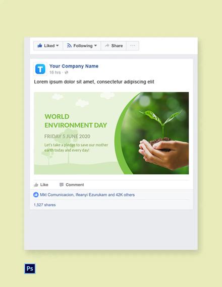 World Environment Day Banner Template