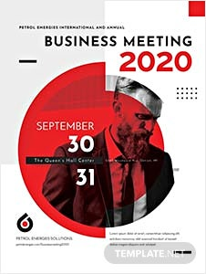 Free templates business event poster template yelopaper Image collections