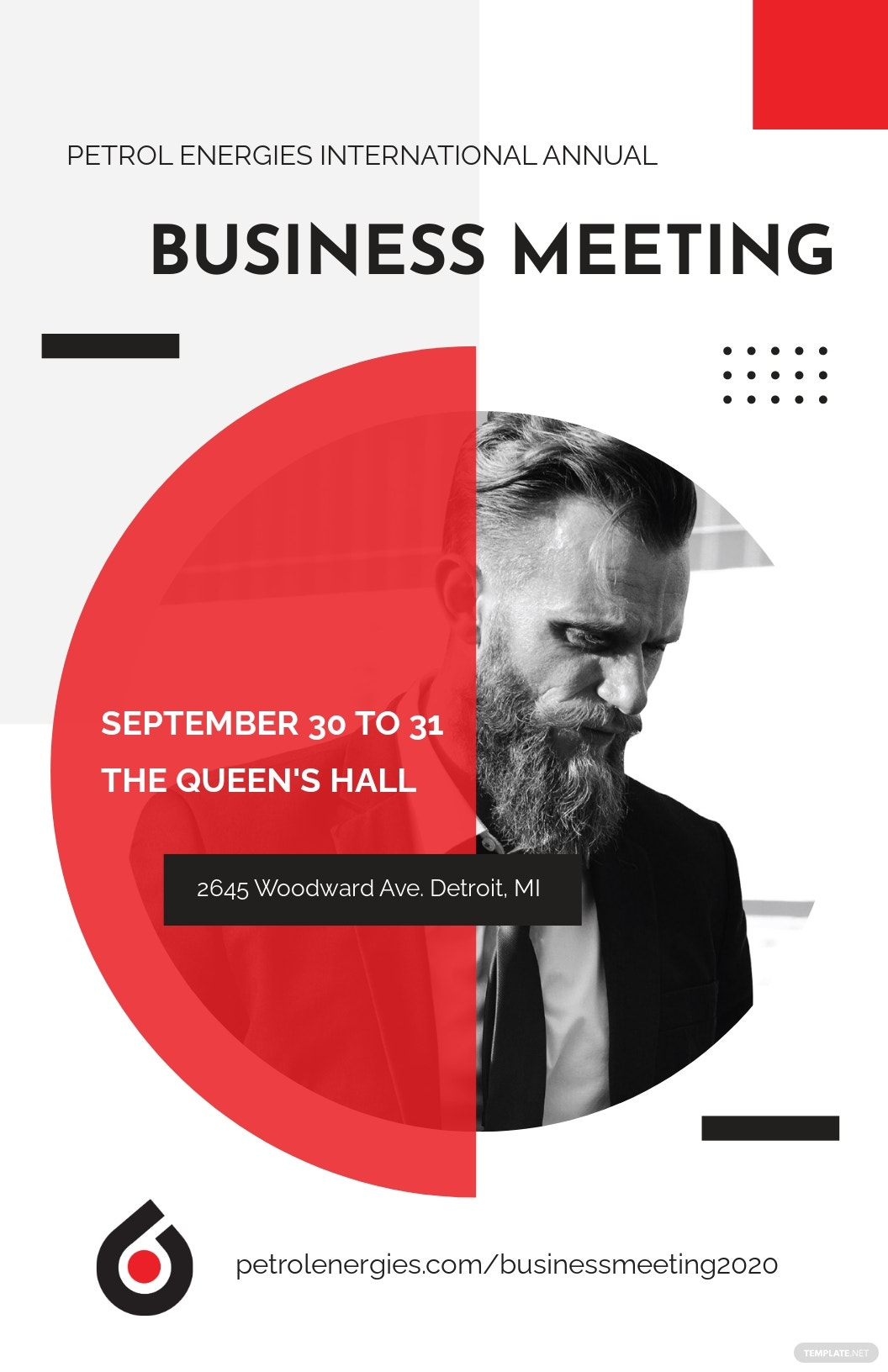 Business Event Poster Template