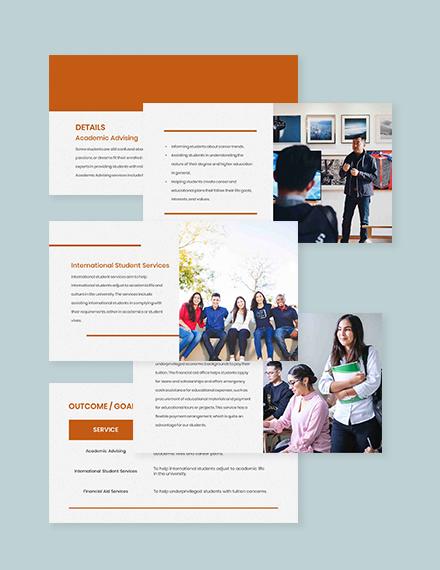 Free Simple University Presentation Format