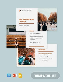 Free Simple University Presentation Template