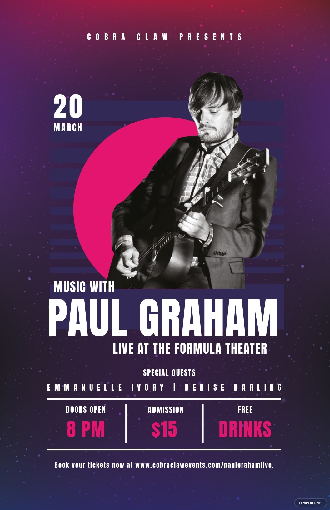 Free Concert Event Poster Template.jpe