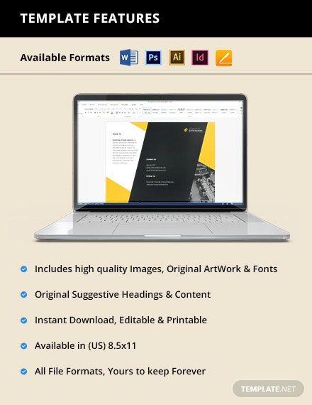 Free Creative Trifold University Brochure Printable
