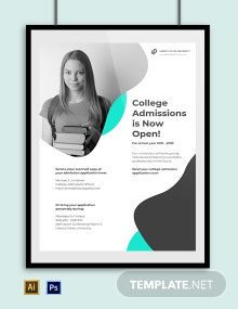 University Promotional Poster Template