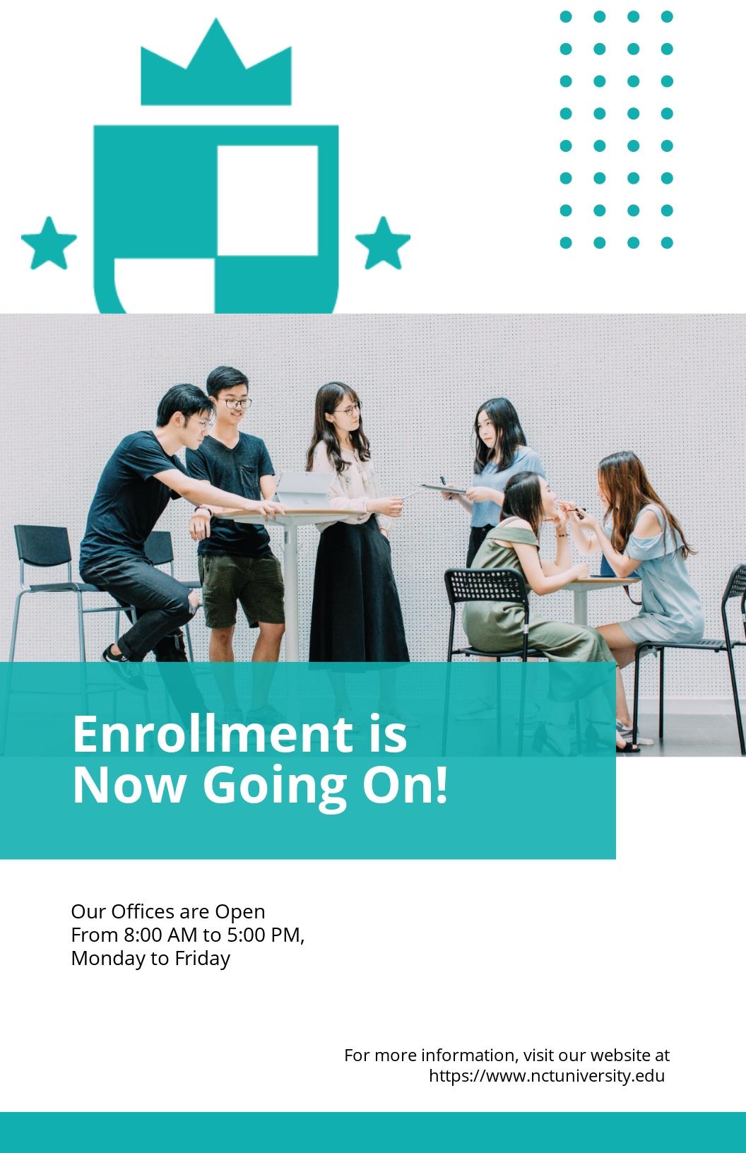 Free Sample University Poster Template.jpe
