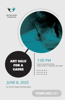 Free Fund Raising Event Poster Template