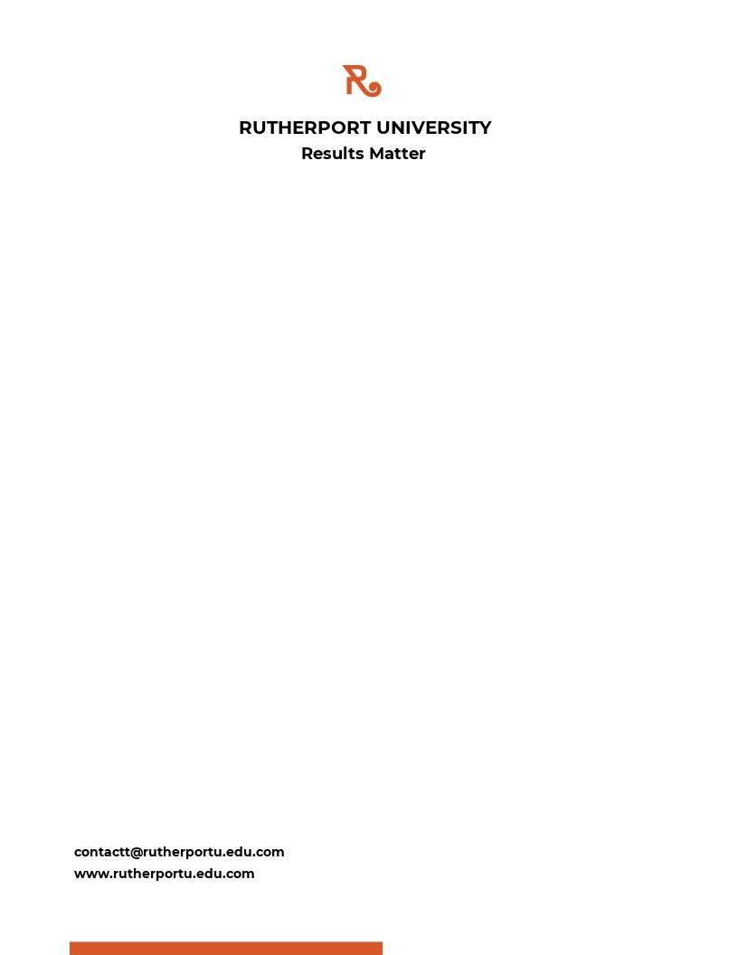 Blank University Letterhead Template.jpe