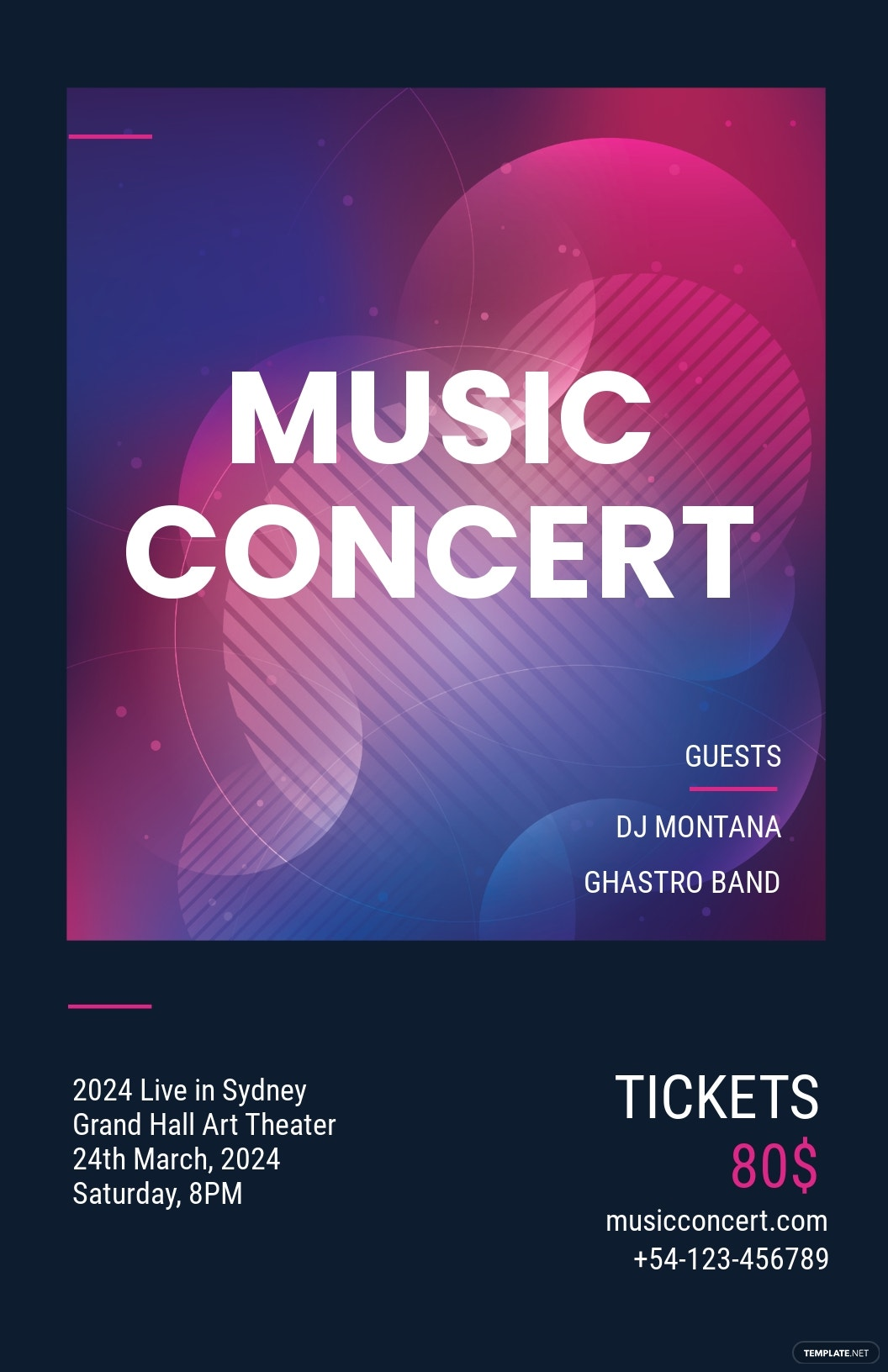 Free Music Concert Poster Template.jpe