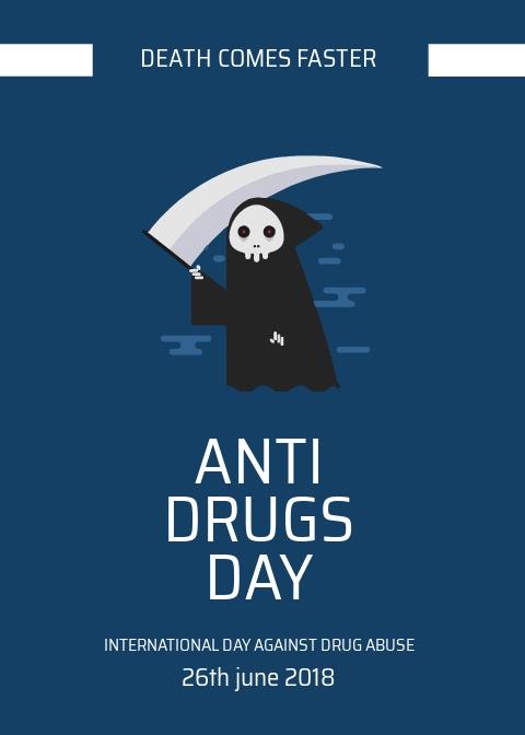 Free Anti Drug Day Card