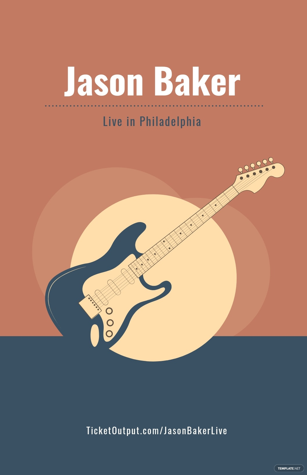 Free Live Music Concert Poster Template.jpe