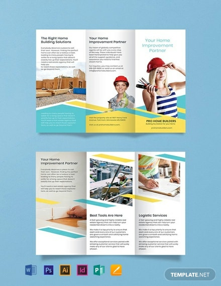 Home Builder Brochure Template