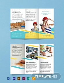 Free Home Builder Brochure Template