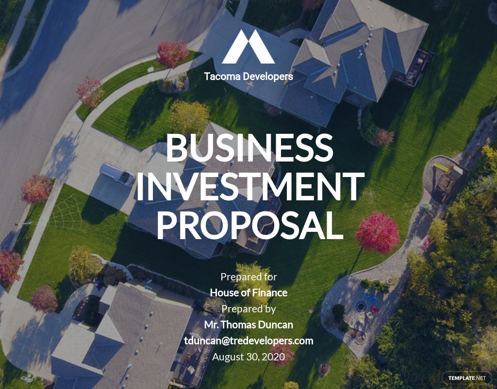 Investment Business Proposal Template.jpe