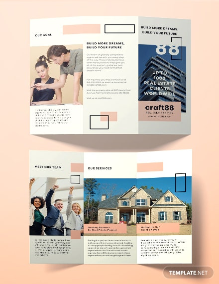Real Estate Agency Brochure Template