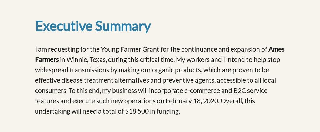 For Profit Grant Proposal Sample 2.jpe