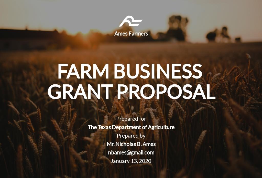 For Profit Grant Proposal Sample.jpe