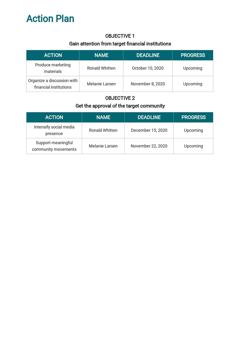 Free Sample School Marketing Plan Template 4.jpe