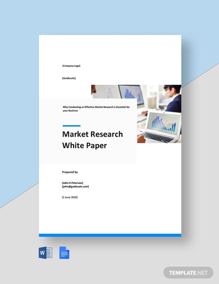 Market Research White Paper Template
