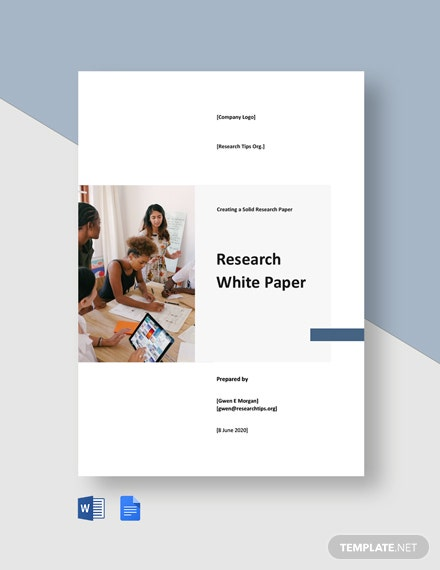 Free Sample Research White Paper Template