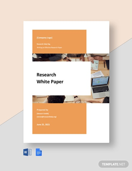 Free Simple Research White Paper Template