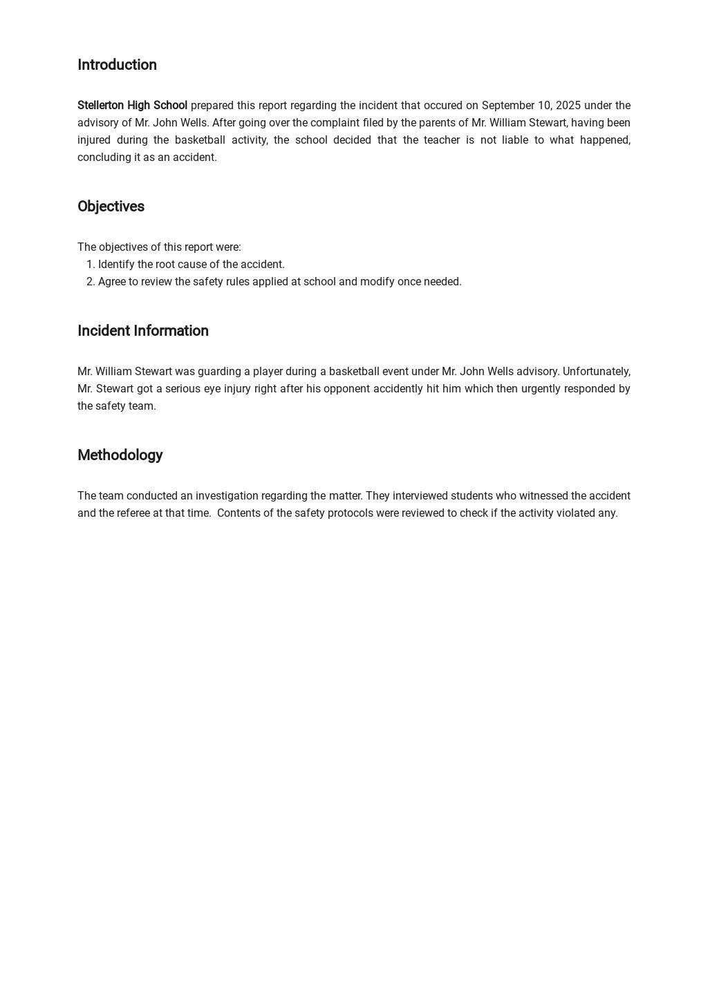School Incident Report Form Template 1.jpe