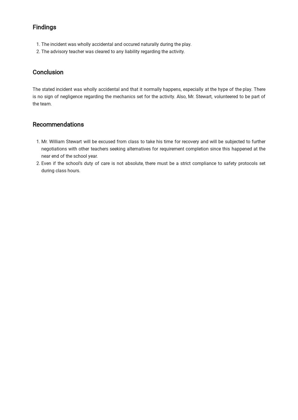 School Incident Report Form Template 2.jpe