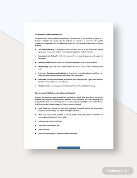 Research Proposal White Paper Download