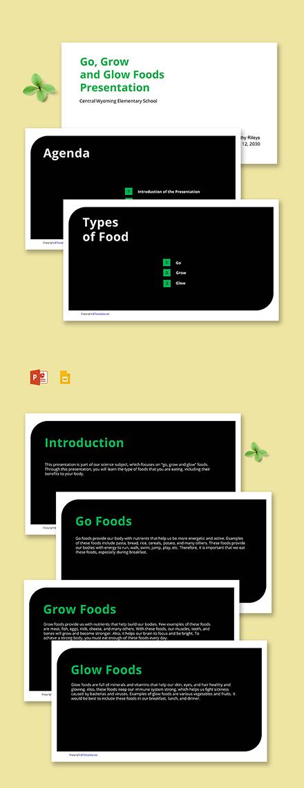 Free Simple School Presentation Template