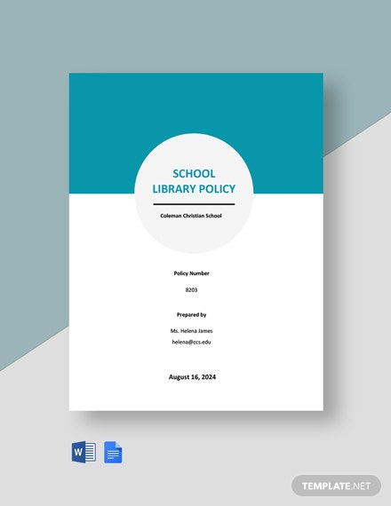 School Library Policy