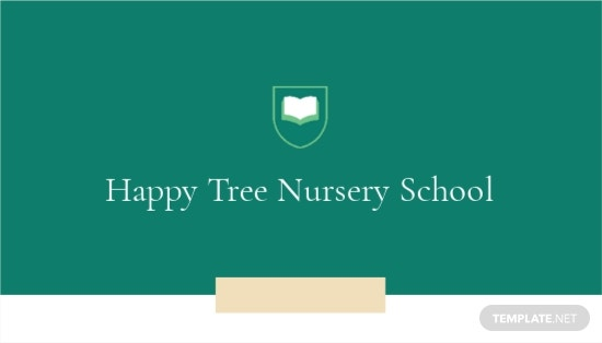 Nursery School Business Card Template.jpe