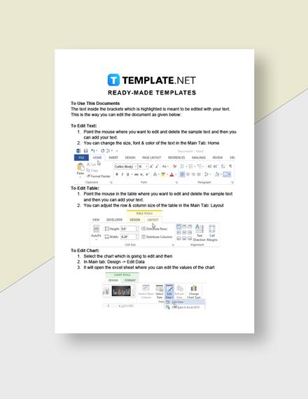 Elementary School Worksheet Template