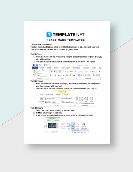 Preschool Attendance Sheet Template