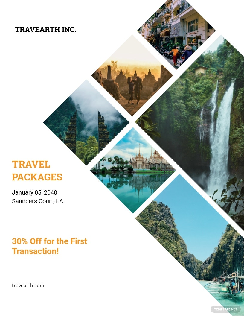 Travel Company Flyer Template.jpe