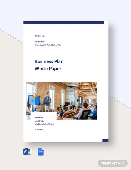 Business Plan White Paper
