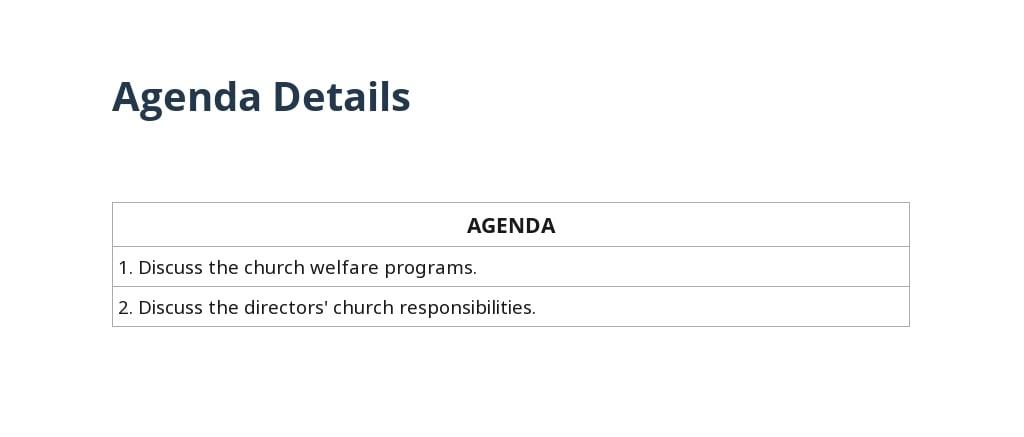 Church Board Of Directors Meeting Minutes Template 2.jpe