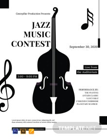Free Classical Music Concert Poster Template