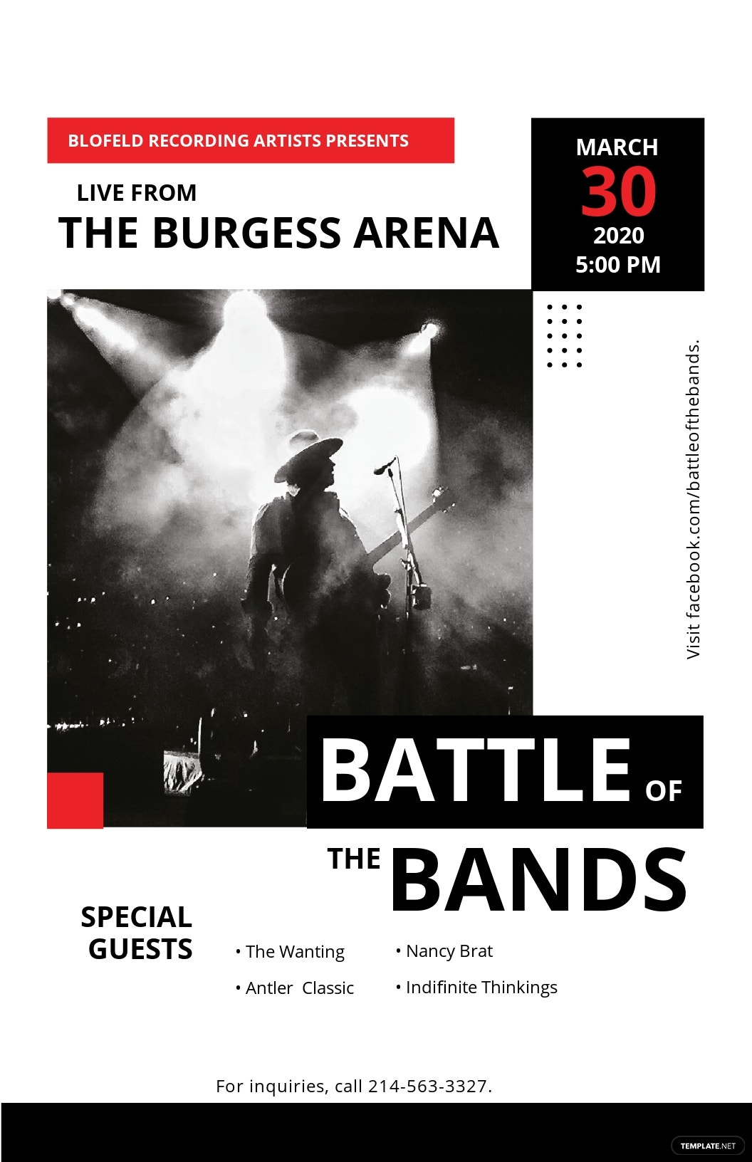Free Live Concert Poster Template.jpe