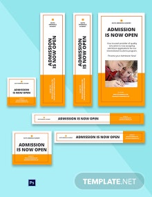 School Admission Ad Template
