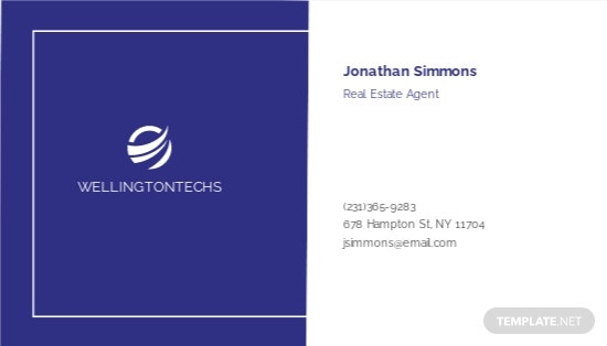 Corporate Business Card Template [Free JPG] - Google Docs, Illustrator, Word, Apple Pages, PSD, Publisher