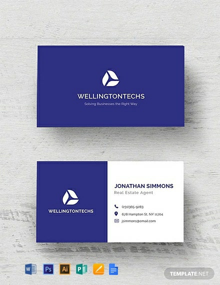 Free Corporate Business Card Template