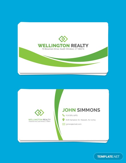 Free Landscaping Business Card Template