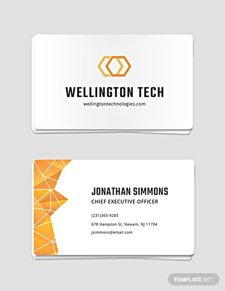 Free professional business card template download 19 business free professional business card template flashek Choice Image