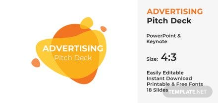 Food Startup Pitch Deck Template Free Templates - Startup pitch deck template