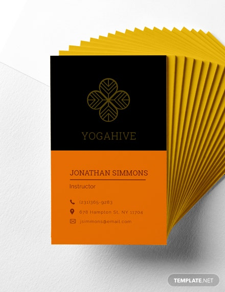 Free Transparent Business Card Template