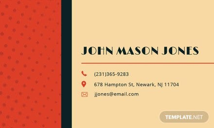 Vintage business card template in adobe photoshop illustrator vintage business card template vintage business card template cheaphphosting Image collections