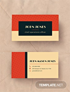 Free clean nifty corporate business card template vintage business vintage business card template fbccfo Image collections