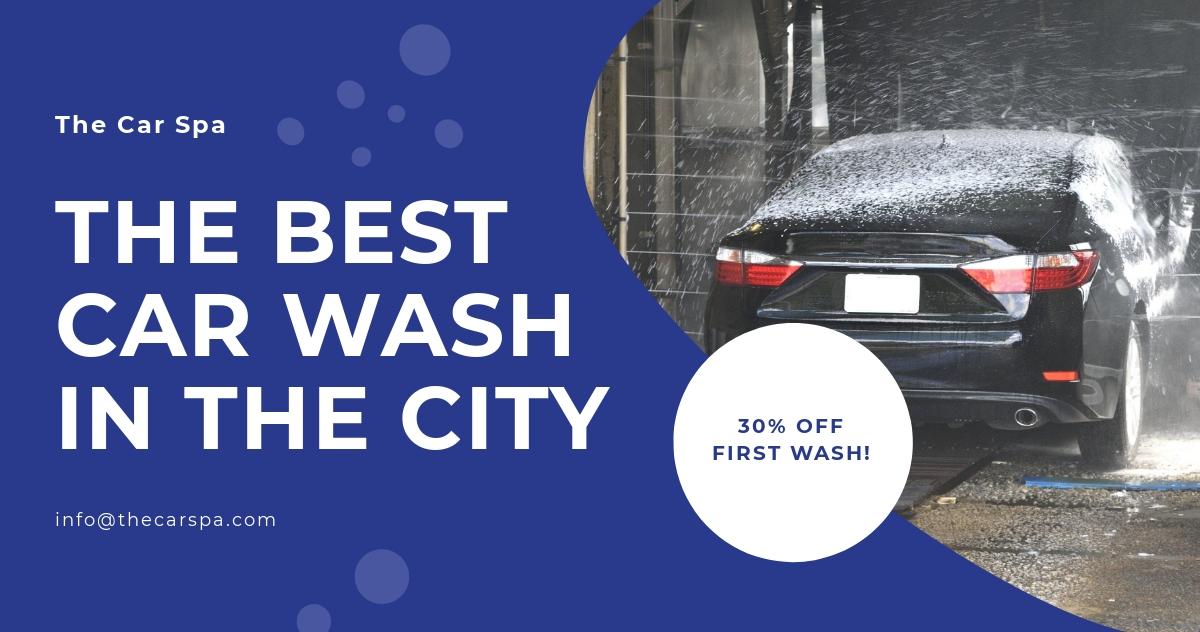 Free Car Wash Facebook Post Template.jpe