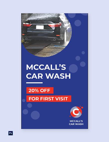 Free Car Wash Whatsapp Template